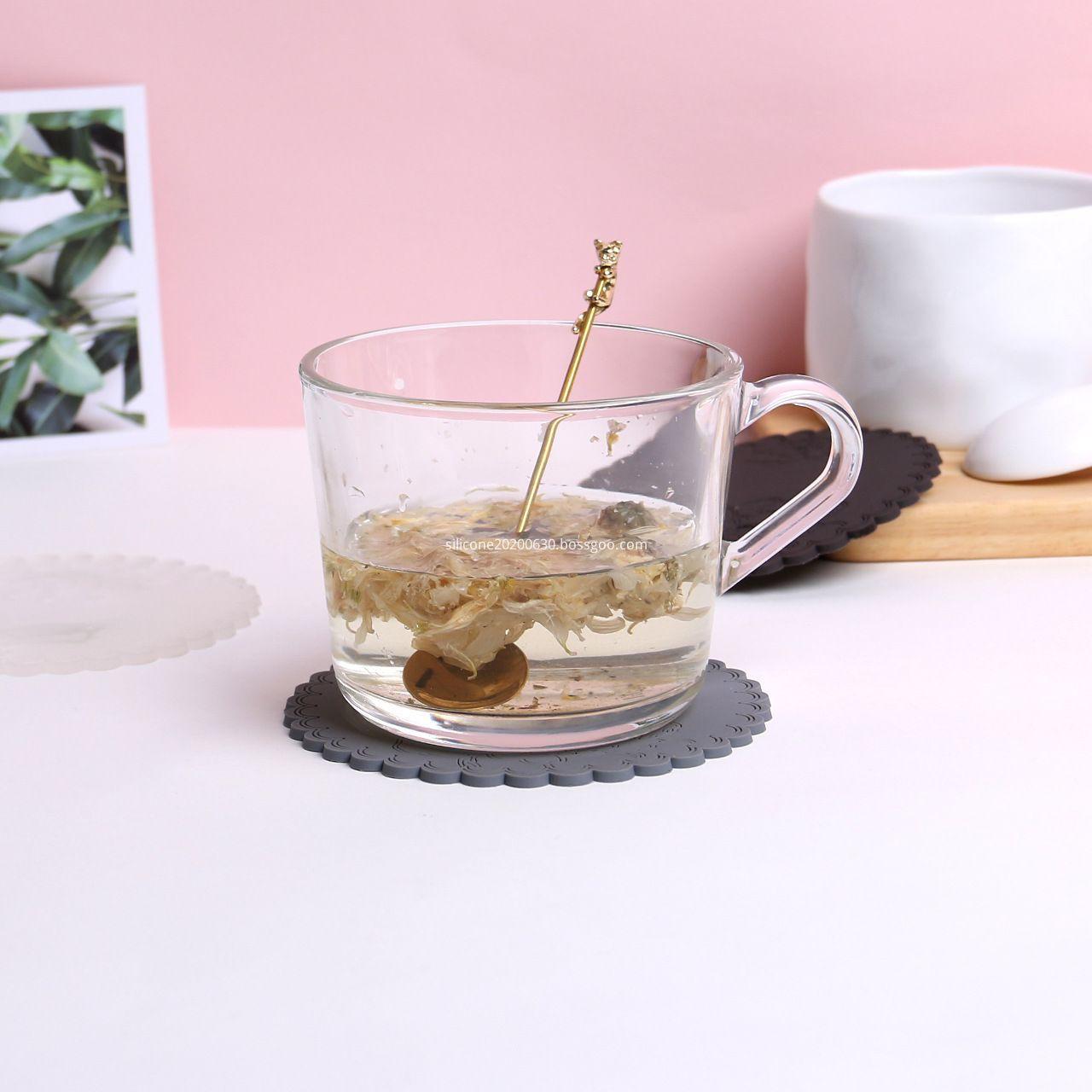 silicon mug coaster