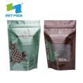 Stand Up Komposable Coffee Zipper Plastic Bag