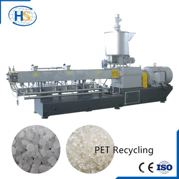 Machine de granulation en plastique de flocons d'animal familier / PE / pp / ABS de capacité élevée