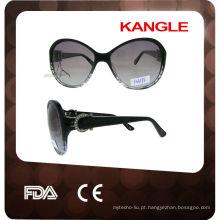 Óculos de óculos de acetato de design 2014 italianos novos para mulheres