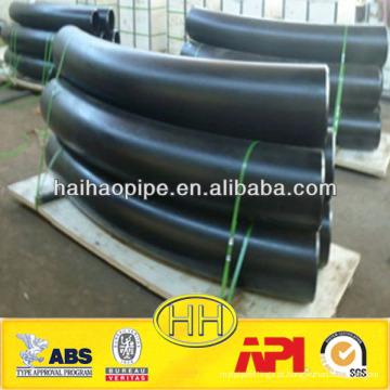 Alta qualidade ASTM A234 WPB R1000 curva de 90 graus
