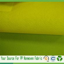 Tela no tejida no tejida / tejida de TNT Spunbond usada para el bolso