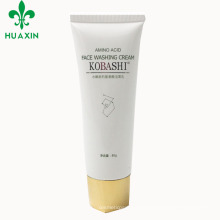 80g Screen Printing Hot Stamping Amino Acid Face Washing Cream Cosmetic Tube To Sell
