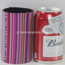 Fashion Striped Custom Neoprene Stubby Holders
