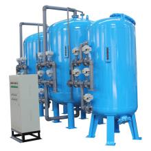 Máquina de filtragem de areia com várias unidades industriais para tratamento de água