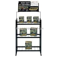 Langlebige 4-Bein Freistehende Batterie-Rack für Inverter-Batterie, Elektro-Bike-Auto-Batterie Display Rack