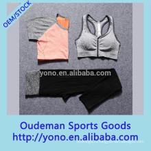 Горячая продажа стильный женщин фитнес-спортивные йога бюстгальтер и брюки