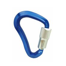 A445KTL ANSI Quick Triple Lock Aluminium Metall Klettern Wandern Karabiner