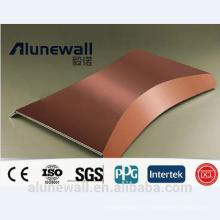Panneau composite ignifuge de cuivre d'Alunewall CCP usine chinoise directe