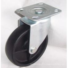 Roue de roulette industrielle en nylon PP