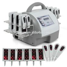 Vacío RF Lipo Laser que adelgaza la cavitación para uso en el hogar