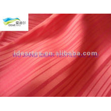 Polyester jacquard Satin Fabric for home textile