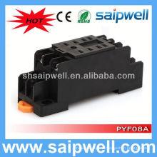 PYF08A / MY2 8-контактный релейный цоколь 12 В релейный разъем