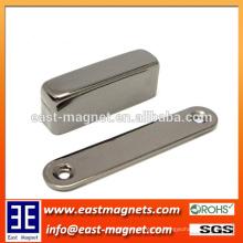 Ni Plated Block NdFeB Permanent Magnet für Generator Assemlies
