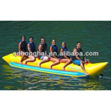 barco de banana inflável 6 pessoa para venda