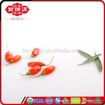 Petits résidus de pesticides wolfberry / baies de goji