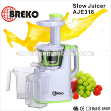 AJE318 150W slow juicer,easy clean juice machines