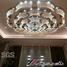 Морден и большой размер Flower Round Hotel Luxury Crystal Pendant Lamp