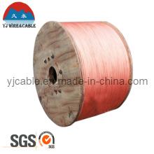 Certificado SGS Alambre de acero recubierto de cobre de alta conductividad Cable CCS