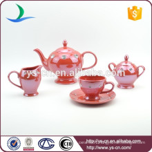 Ceramic Red Coffee Set Wholesaler In China