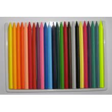 24 Colors Hexangular Erasable Crayons (7004)