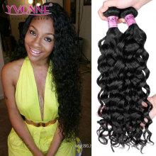 Wholesale Unprocessed Peruvian Virgin Human Hair Weft