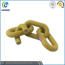 Colord de acero recubierto de acero cadena de enlace para la protección
