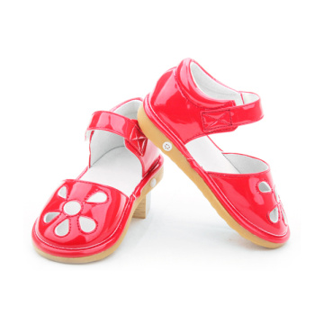Fesyen Gaya Flat Baby Girls Girls Toddler Squeaky Shoes