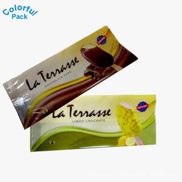 atacado pacote de sorvete de plástico claro pacote de pacote de picolé
