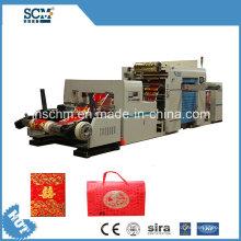 Caixa de papel / caixa de cigarro ouro carimbar máquina