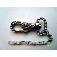China Supplier Wholesale Key Accessories Snap Hook And Metal Keychain