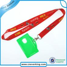 Sublimación Llavero personalizado para tarjeta de identificación