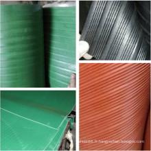 5-35 Kv Feuille d'isolation en caoutchouc industrielle