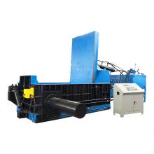Máquina de envasado de virutas de metal de aluminio de acero hidráulico