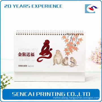 factory wholesale custom high quality paper annual calendar