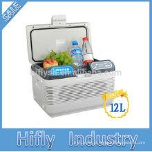 HF-1200 DC mini geladeira para carro mini carro portátil geladeira mini carro geladeira mini geladeira