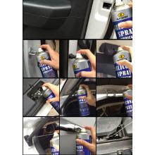 Pulvérisateur non toxique en silicone, lubrifiant à base de silicone Aérosol, lubrifiant polyvalent