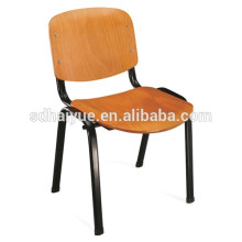 2017 hot sell Cheap Plywood School Chair with Writing Board