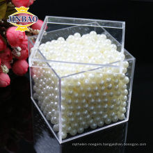 China Suppliers Customed Transparent small clear plastic acrylic boxes with lids
