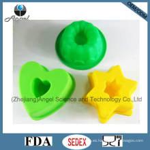 Pequeña calabaza silicona pastel molde de silicona pastel hornear Sc04