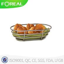 Euro Bread Basket in Metal Wire