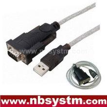 USB zu RS232 DB 9 Pin Serielle COM Kabelleitung