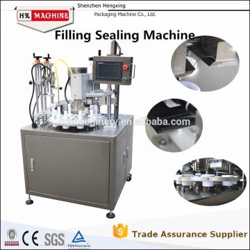 Filling Sealing Machine.Cosmetic Tube Filling And Sealing Machine.Hand Cream Tube Filling And Sealing Machine