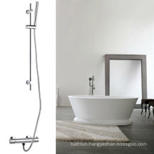 Simple Thermostatic shower set with vernet bar and cross handle TMV-2 And WRAS