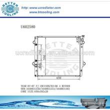 Aluminum Radiator For TOYOTA FJ CRUISER 07- 03-06 4 RUNNER 1640031350/1640031351/1640031461 Manufacturer and Direct Sale
