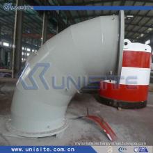 Tubo de acero soldado de alta presión de la pared doble para la draga (USC-6-001)