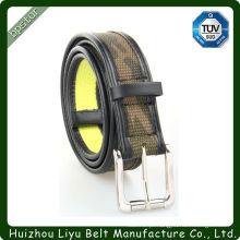 Top-Selling Stripe Pin Buckle Tela Canvas Belt