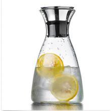 Главная Обеденный ясный стеклянный кувшин для воды Напитки Сок Кофейный кувшин Контейнер