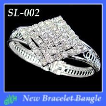 Nuevo brazalete de la manera de Yiwu, pulsera del Rhinestone