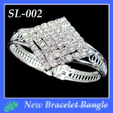 Yiwu Wholesale New Fashion Bangle, Rhinestone Bracelet